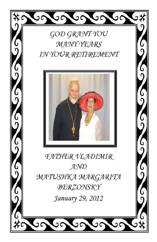 holy trinity orthodox church frvladimirs retirement